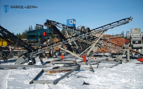 Дробильно-сортировочная установка ДСУ-150; ПДСУ-150