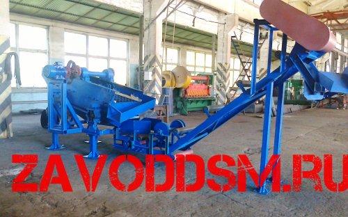 ДСЛ производительностью 100 м3/ч (с классификатором 1КСН-12Х80)