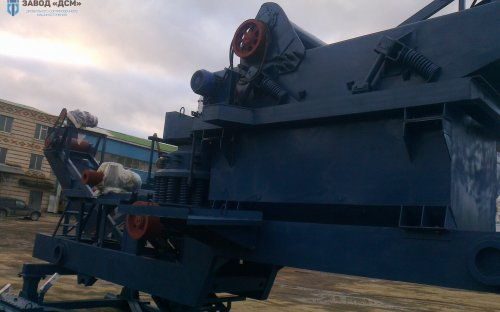Дробильно-сортировочная линия ПДСУ-30