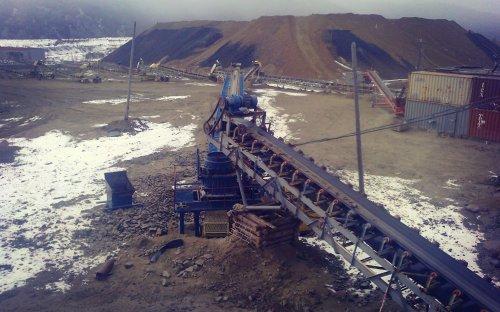 КСД-900 на Березитовом руднике
