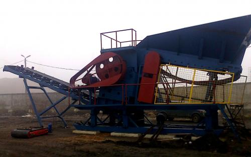 Агрегат дробления СМД-186